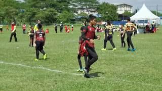 #rangers7s U12 boy ; Lavender Rugby Club [41] vs [0] Black Widow _ ...