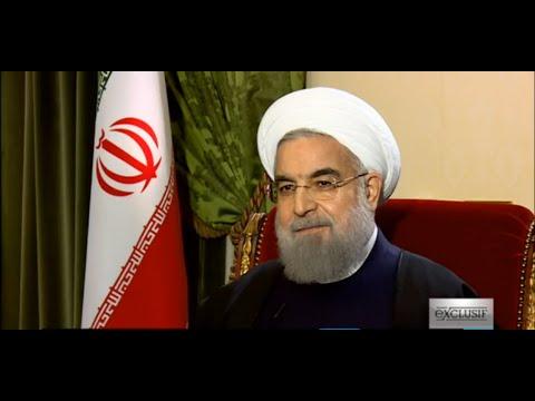 EXCLUSIF - Entretien avec le président iranien Hassan Rohani sur FRANCE 24