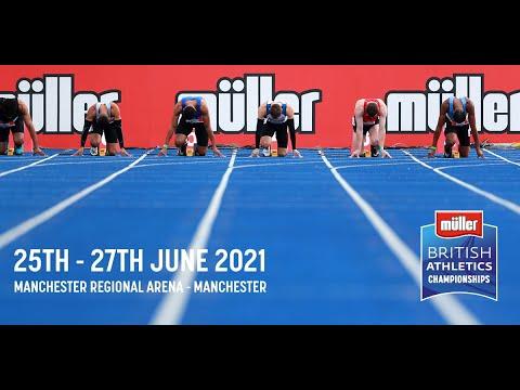 Müller British Athletics Championships 2021 Day 3