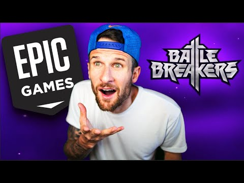 EPIC GAMES NEW Game - BATTLE BREAKERS - IOS/ANDROID/PC