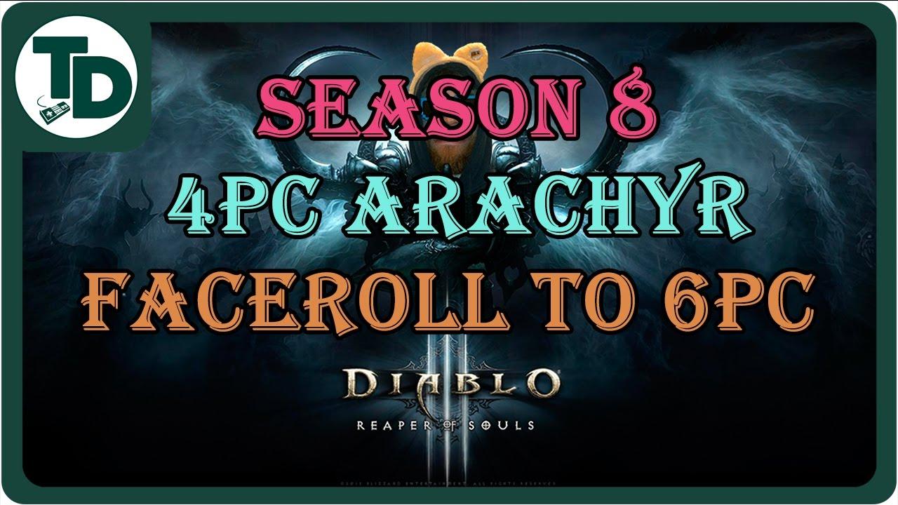 4PC Faceroll to 6PC | Season 8 Haedrig's Gift Arachyr's Set ...