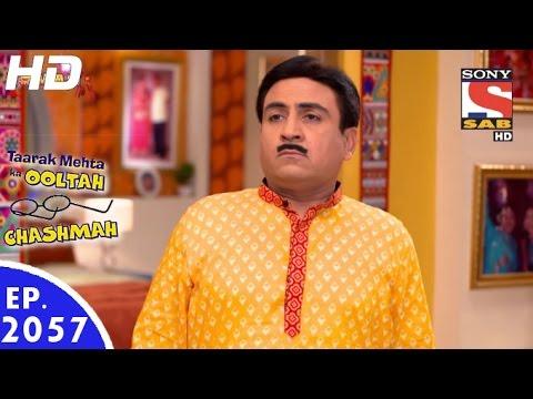 Taarak Mehta Ka Ooltah Chashmah - तारक मेहता - Episode 2057 - 26th October, 2016