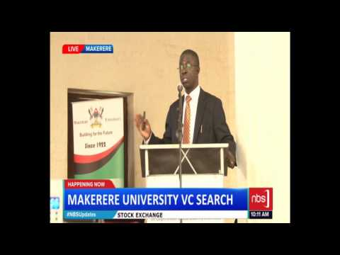 Prof. Edward Kirumira Publicly Present Why Makerere University Needs Him as Vice Chancellor