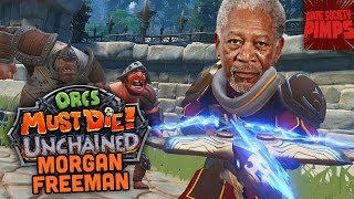 Orcs Must Die - Unchained - Morgan Freeman Storytime - GameSocietyPimps