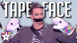HILARIOUS AUDITION Tape Face on Got Talent France 2020 | Got Talent Global