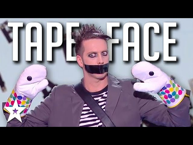 HILARIOUS AUDITION Tape Face on Got Talent France 2020 | Got Talent Global.