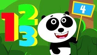 动物学习至计数 | 数韵| 孩子们的歌 | Animals Learn To Count | Kids Song | Animal Rhyme | Number Song For Kids