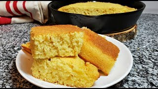 Easy Cornbread Recipe  How To Make Soft Fluffy Cornbread