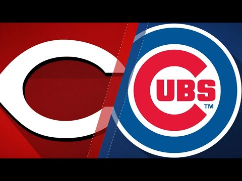Murphy, Baez pace Cubs in 10-6 win over Reds: 8/25/18