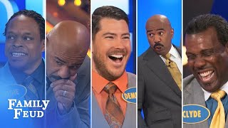 ALL-TIME GREATEST MOMENTS in Family Feud history!!! | Part 3 | Steve Harvey Funny Moments