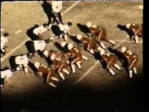 Monterey High School Football Texas State Playoff Highlights 1972 (Original Film)