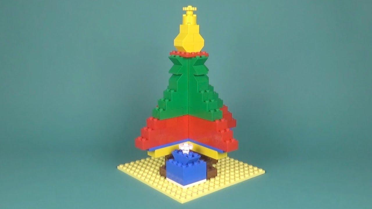 Lego Christmas Tree (001) Building Instructions