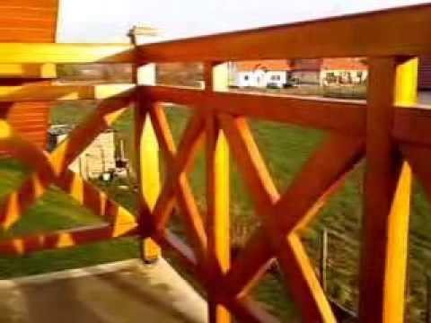 Balkongelnder aus Holz  YouTube