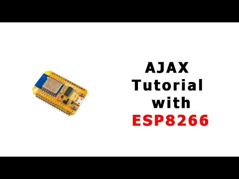 ESP8266 AJAX tutorial - send data without page refresing