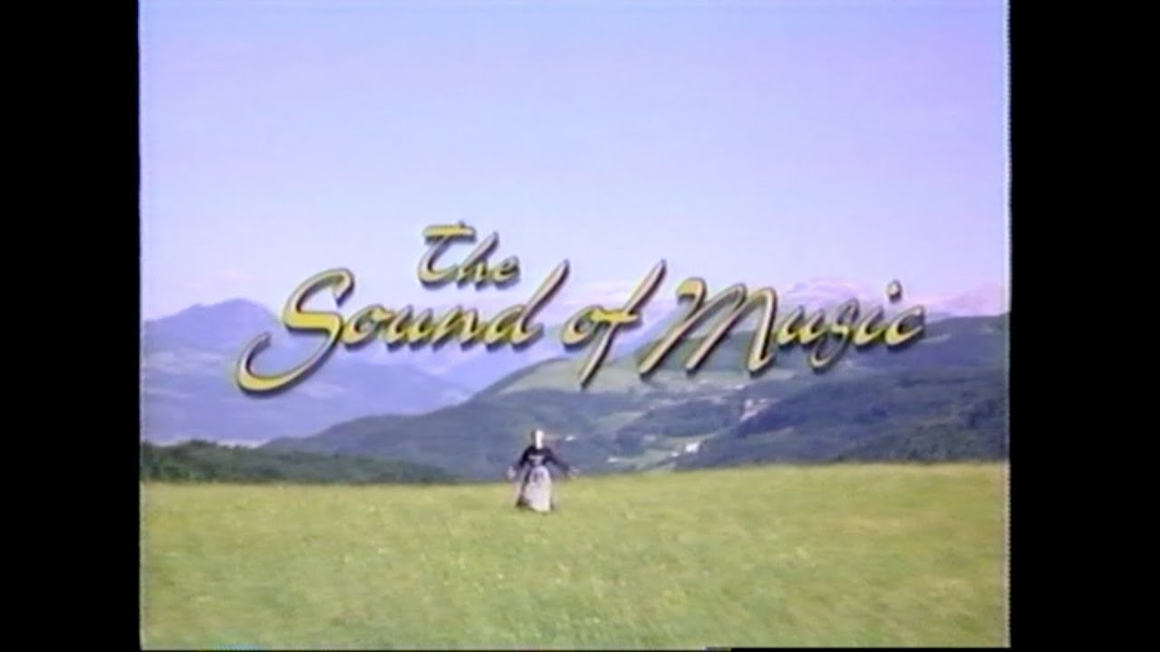 THE SOUND OF MUSIC MOVIE TRAILER [VHS] 1985/1996