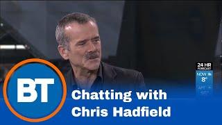Commander Chris Hadfield in studio!