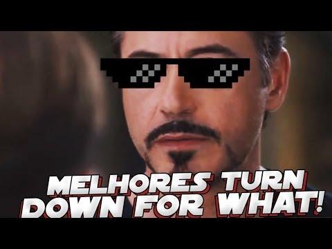 MELHORES TURN DOWN FOR WHAT DE SUPER HEROIS