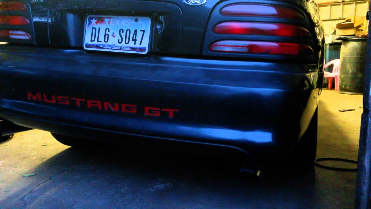 95 Mustang 5 0 2 Step Youtube
