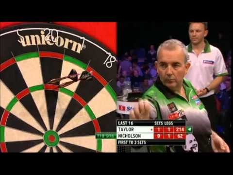 PDC World Grand Prix 2013 - Second Round - Taylor VS Nicholson