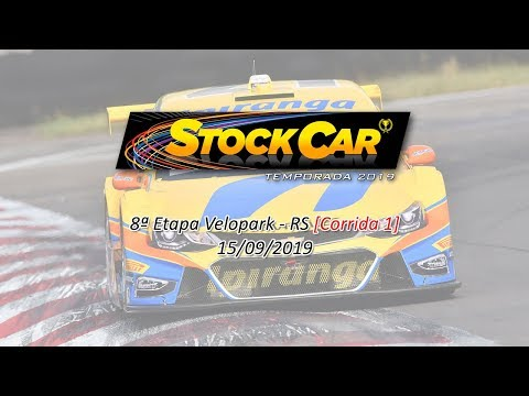 Stock Car 2019 8ª Etapa Velopark-RS [Corrida 1]