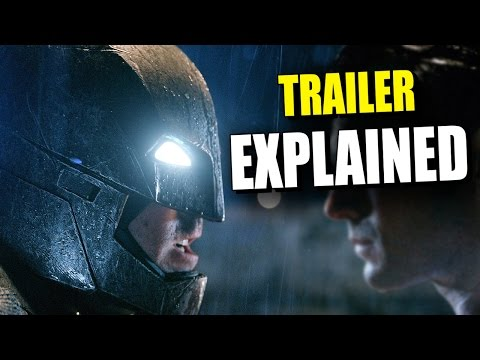 New BATMAN v SUPERMAN: Dawn of Justice Comic Con Trailer EXPLAINED