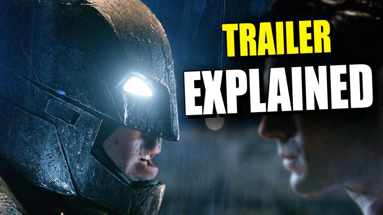 New BATMAN V SUPERMAN Dawn Of Justice Comic Con Trailer EXPLAINED