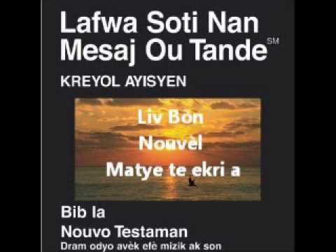 Bib La: Liv Bòn Nouvèl Matye te ekri a