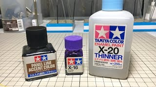 TZ TUTORIALS - Panel Washing with Tamiya Accent Color and Enamels