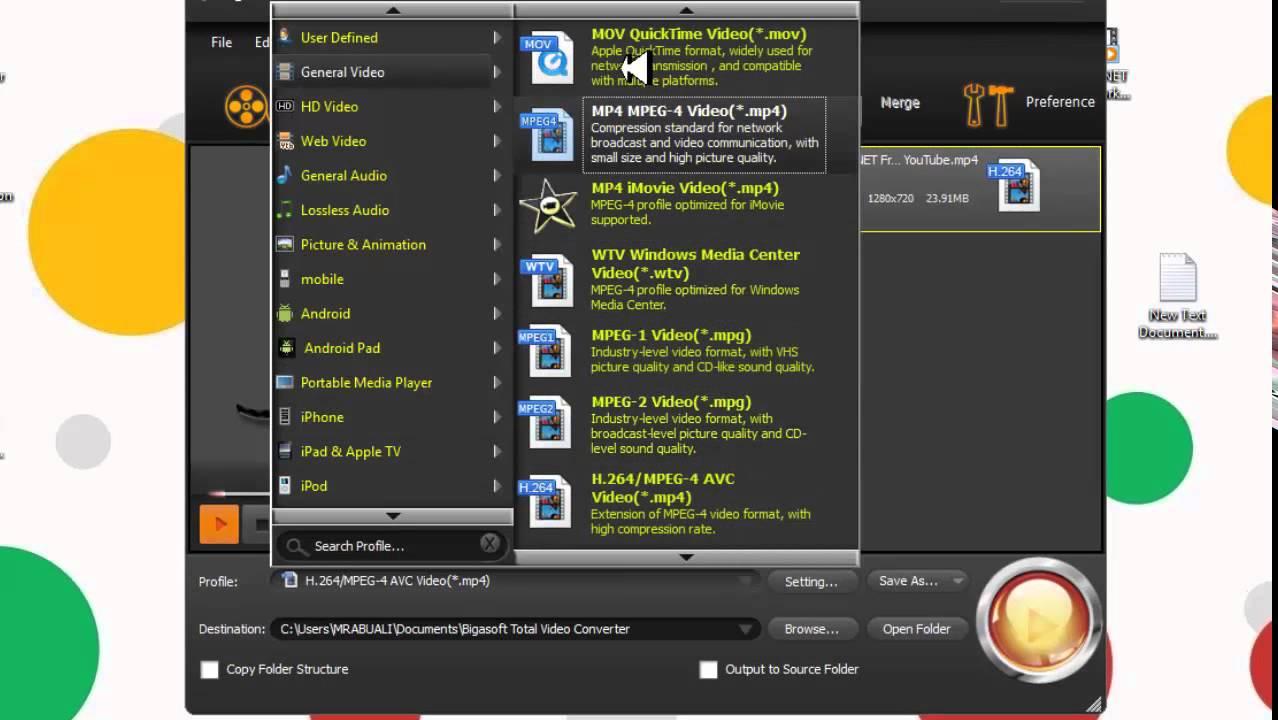 crack para bigasoft total video converter