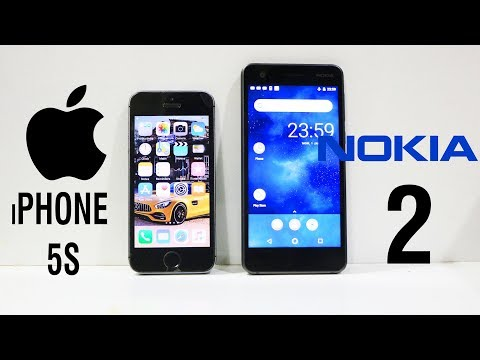 Nokia 2 Vs iPhone 5S Speed Test