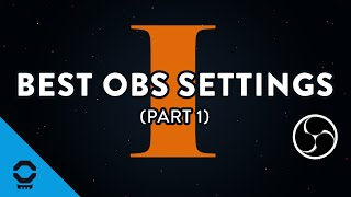 best obs studio settings part 1 bitrate twitch server and stream key   tutorial 4 13