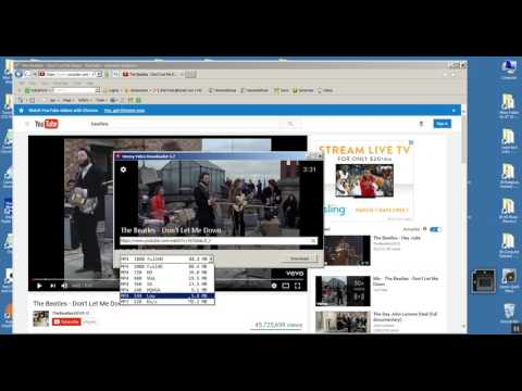 Downloading YouTube Video Using Ummy Video Downloader