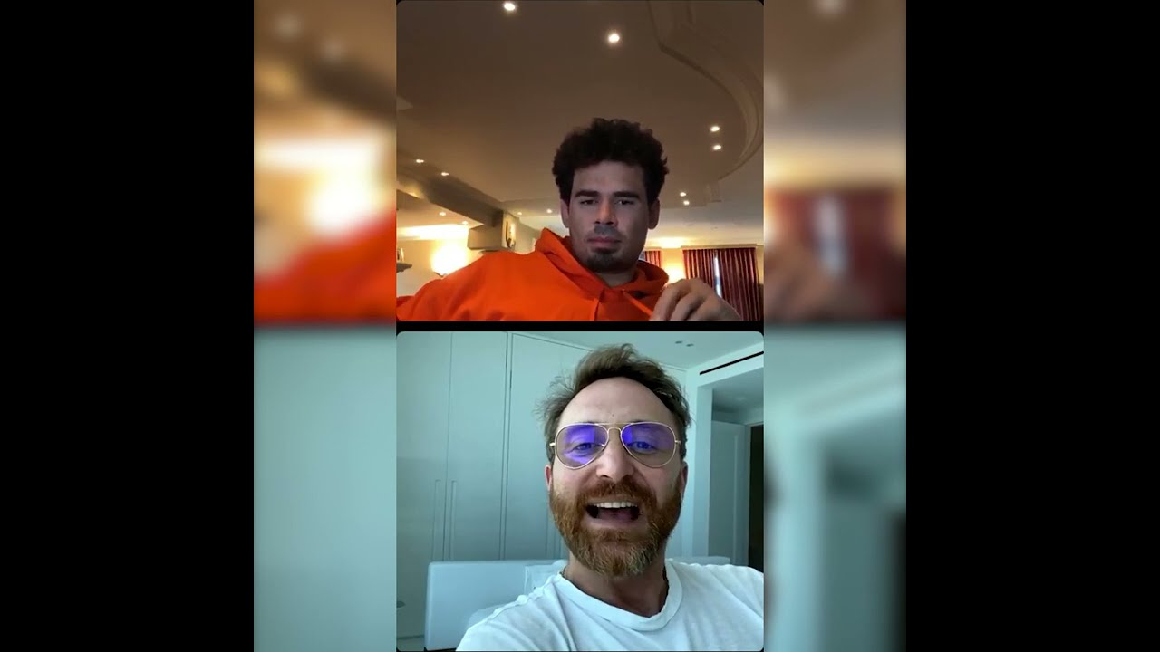 David Guetta and Afrojack talk about Djs From Mars in their live Instagram session