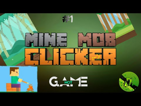 Mine Mob Clicker Rpg.Продолжаем играть.#1