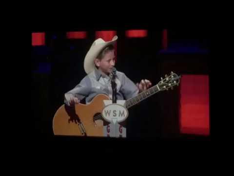 Yodeling Walmart Kid Mason Ramsey Yodelling Performance At Grand Ole Opry