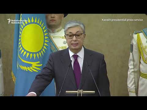 Kazakhstan Gets New President As Nazarbaev Looks On