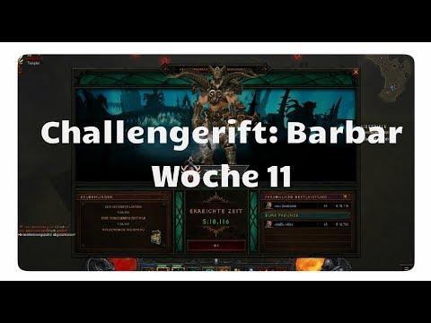 Diablo 3: Challenge Rift 11 (Barbar)