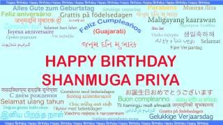 ShanmugaPriya   Languages Idiomas - Happy Birthday