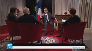 حوار خاص مع الرئيس الفرنسي: النظام السوري يستغل الإرهاب من أجل بقائه