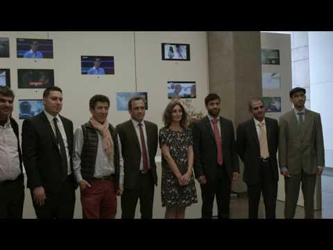 Abu Dhabi Cultural Delegation vist to French Medias with APEMA