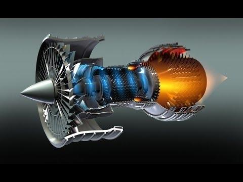 Мегамашины - Турбореактивный двигатель GE 90