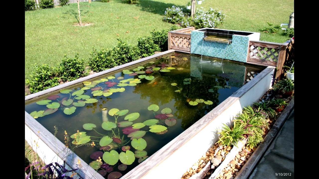 Koi pond build uv clarifier and filtration youtube for Setting up a garden pond