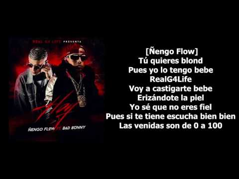 Hoy - Ñengo Flow ft. Bad Bunny [LETRA-KARAOKE]
