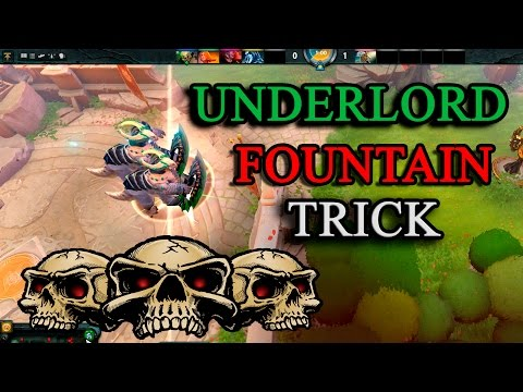 HOW TO TP AN ENEMY UNDERLORD TO YOUR FOUNTAIN!