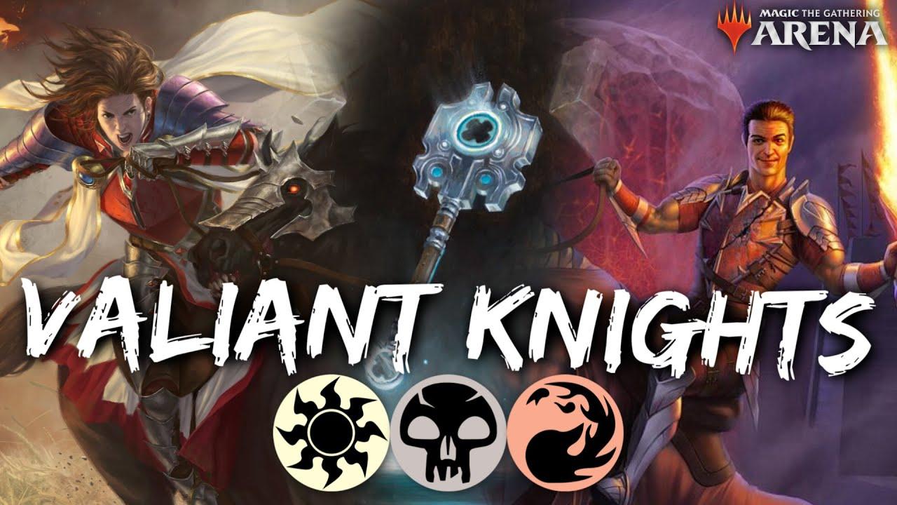 Valiant Knights Standard Mtg Arena Mardu Knights Equipment Deck In Eld Standard