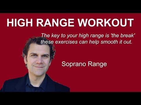 Soprano Range Singing over 'the Break'