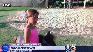 Mini Pony packs a punch. Live report from the Salem County Fair on CBS3 Eyewitness News.