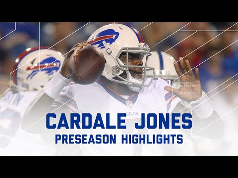 Cardale Jones Highlights | Colts vs. Bills | NFL