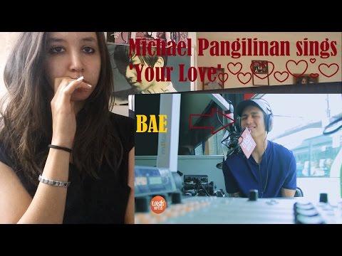 Michael Pangilinan sings 'Your Love'  LIVE _ REACTION