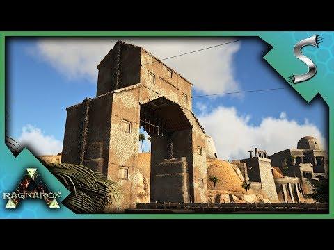 RENOVATING THE BROKEN DESERT BRIDGE! - Ark: RAGNAROK [DLC Gameplay S3E21]